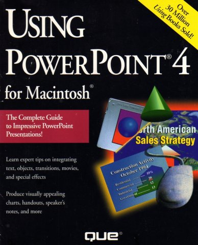 Using PowerPoint 4 for Macintosh