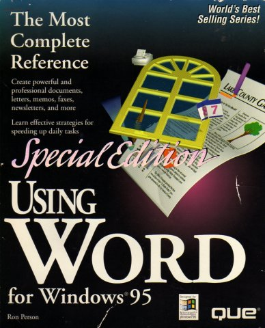 Using Word for Windows 95 Special Edition