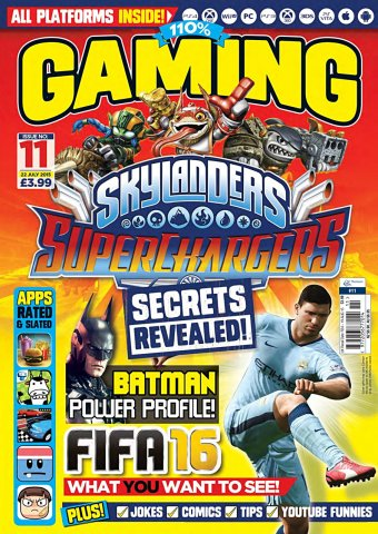 110% Gaming Issue 011 (July 22, 2015)