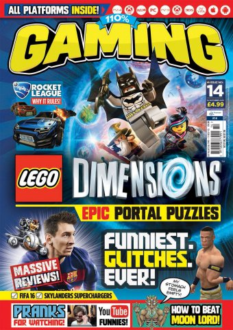 110% Gaming Issue 014 (October 14, 2015)