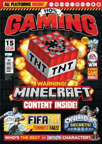 110% Gaming Issue 015 (November 11, 2015)