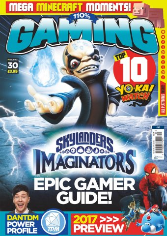 110% Gaming Issue 030 (January 2017)