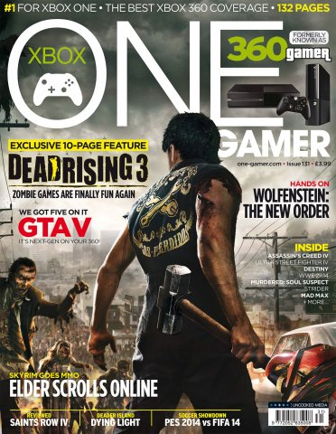 ONE Gamer Issue 131 August 2013