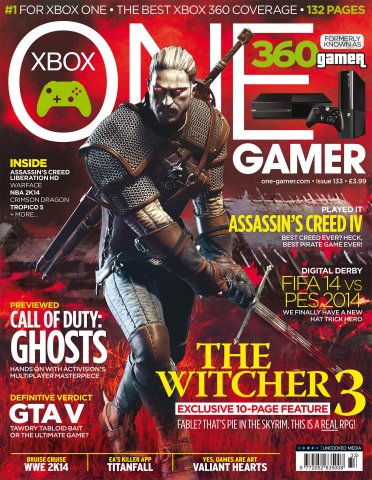 ONE Gamer Issue 133 October 2013 (cover a)