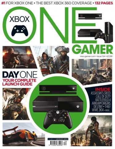 ONE Gamer Issue 134 November 2013