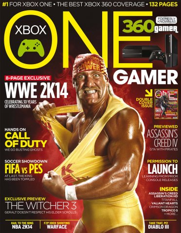 ONE Gamer Issue 133 October 2013 (cover b)
