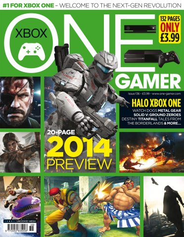 ONE Gamer Issue 136 January 2014 (cover a)