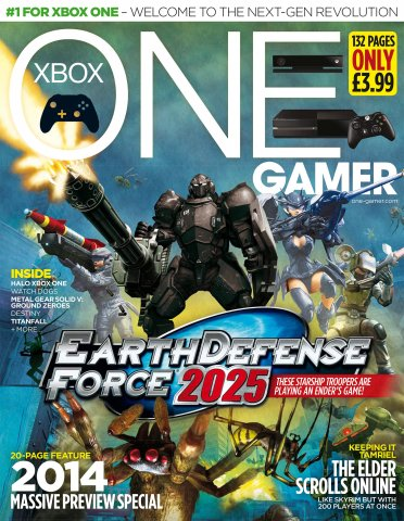 ONE Gamer Issue 136 January 2014 (cover b)