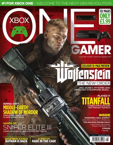 ONE Gamer Issue 138 March 2014