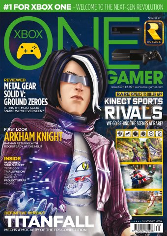 ONE Gamer Issue 139 April 2014 (cover a)