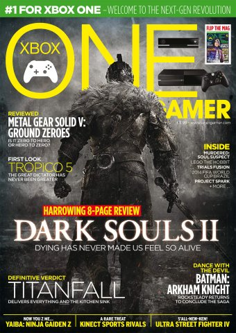 ONE Gamer Issue 139 April 2014 (cover b)