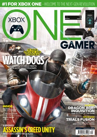 ONE Gamer Issue 140 May 2014 (cover a)