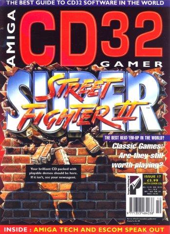 Amiga CD 32 Gamer Issue 17 October 1995