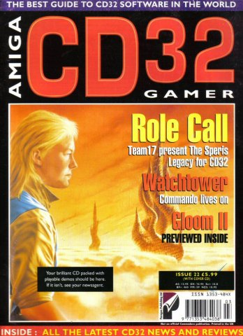 Amiga CD 32 Gamer Issue 22 March 1996