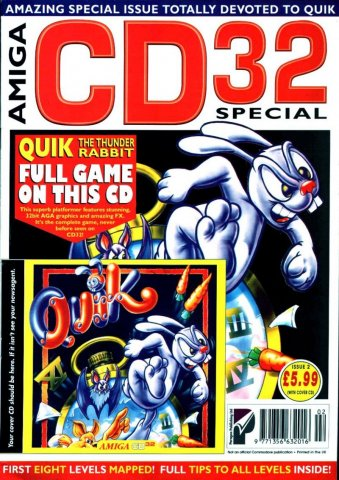 Amiga CD32 Special Issue 2 April 1995