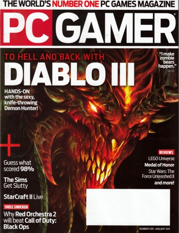 PC Gamer Issue 209 January 2011
