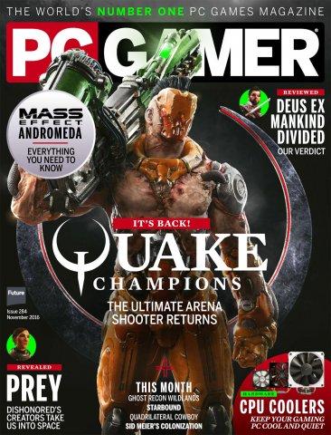 PC Gamer Issue 284 November 2016