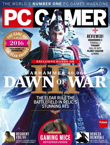 PC Gamer Issue 288 February 2017