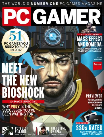 PC Gamer Issue 289 March 2017
