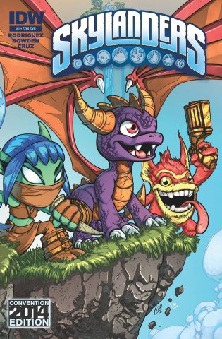 Skylanders Issue 00 (convention edition) July 2014