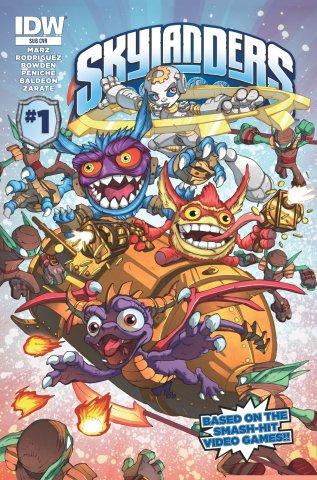 Skylanders Issue 01 (subscriber cover) October 2014
