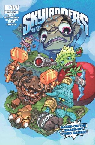 Skylanders Issue 02 (subscriber cover) November 2014