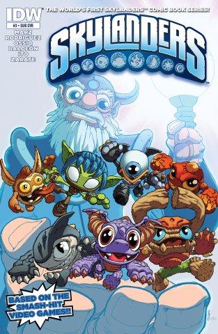 Skylanders Issue 03 (subscriber cover) December 2014