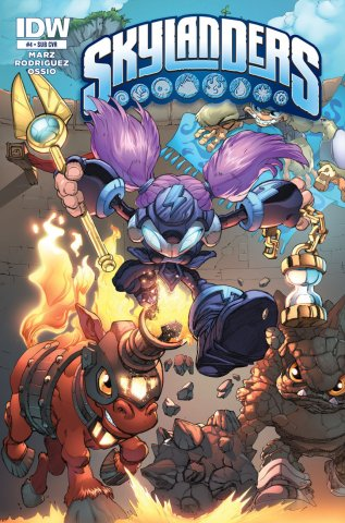Skylanders Issue 04 (subscriber cover) January 2015