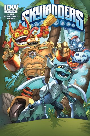 Skylanders Issue 05 (subscriber cover) January 2015
