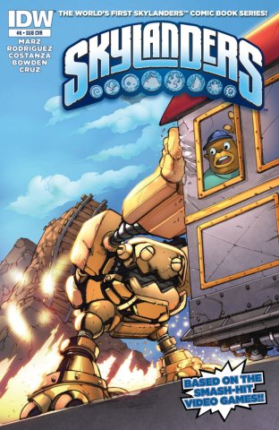 Skylanders Issue 06 (subscriber cover) February 2015
