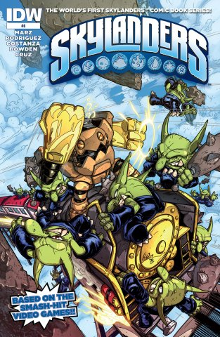 Skylanders Issue 06 February 2015