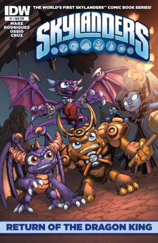 Skylanders Issue 07 (subscriber cover) March 2015