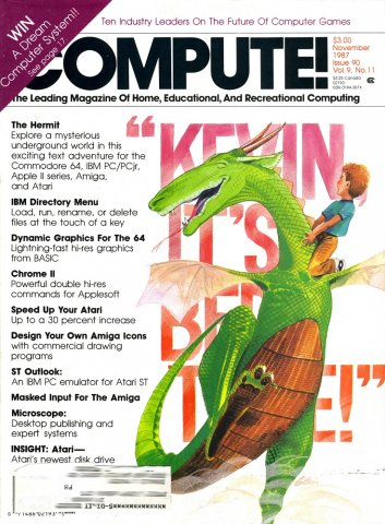 COMPUTE! Issue 090 Vol. 09 No. 11 (November 1987)