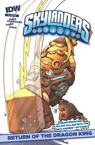 Skylanders Issue 08 (subscriber cover) April 2015