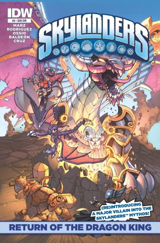 Skylanders Issue 09 (subscriber cover) May 2015
