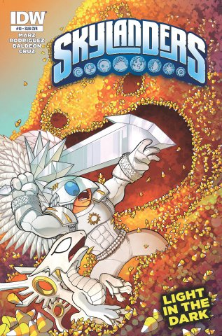 Skylanders Issue 10 (subscriber cover) June 2015