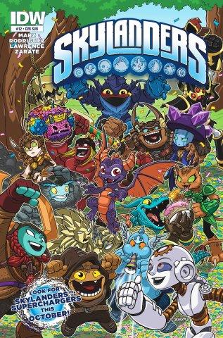 Skylanders Issue 12 (subscriber cover) August 2015