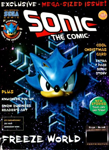 Sonic the Comic 118 (December 16, 1997)