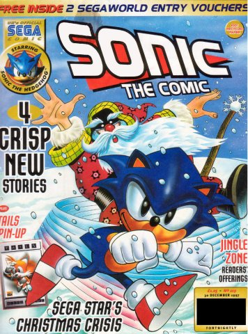 Sonic the Comic 119 (December 30, 1997)
