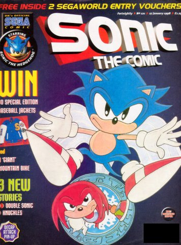 Sonic the Comic 121 (January 27, 1998)