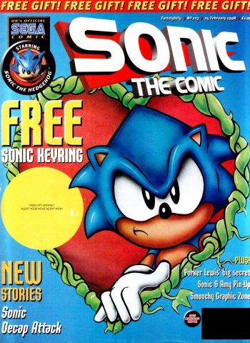 Sonic the Comic 123 (February 24, 1998)