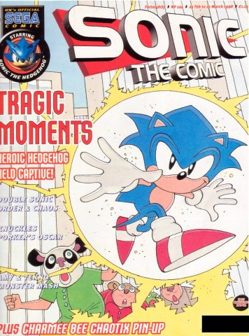 Sonic the Comic 124 (February 25, 1998)