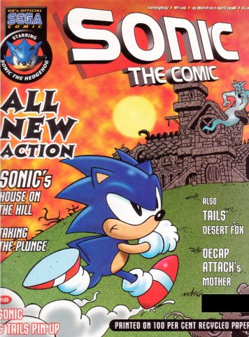 Sonic the Comic 126 (March 25, 1998)