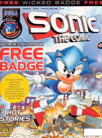 Sonic the Comic 128 (April 22, 1998)