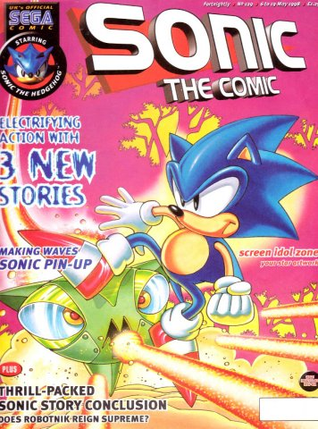 Sonic the Comic 129 (May 6, 1998)