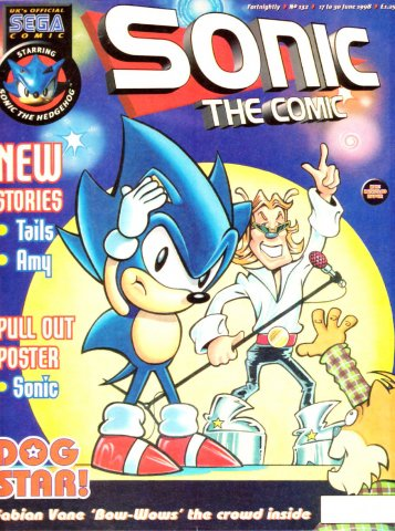 Sonic the Comic 132 (June 17, 1998)
