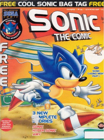 Sonic the Comic 134 (July 15, 1998)