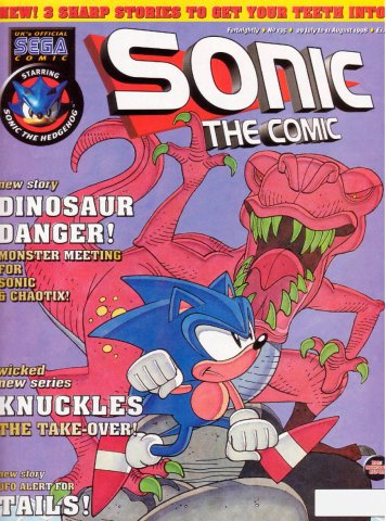 Sonic the Comic 135 (July 29, 1998)