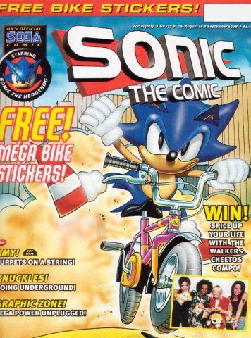 Sonic the Comic 137 (August 26, 1998)