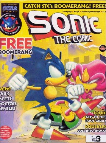 Sonic the Comic 138 (September 9, 1998)